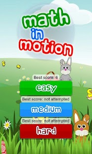 Math in Motion for kids- screenshot thumbnail