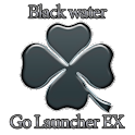 GO Launcher Theme Black Water logo