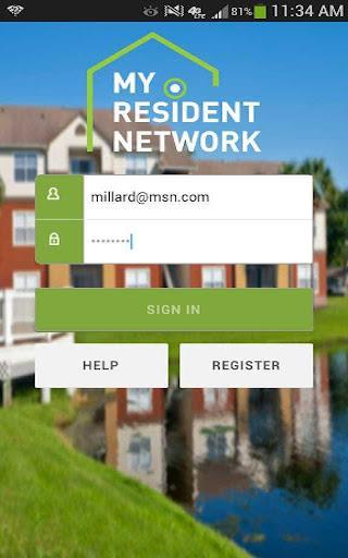 My Resident Network