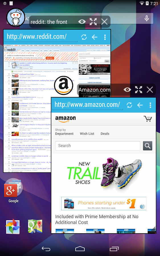Hover Browser - screenshot