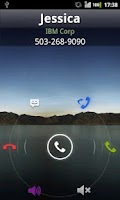 Screenshot of Rocket Caller ID CC Theme