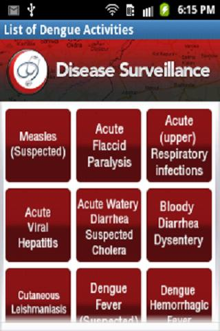 Punjab Disease Surveillance- screenshot