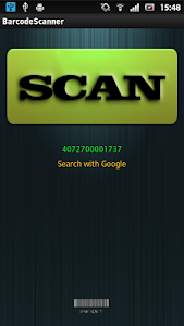 Barcode Scan screenshot 1