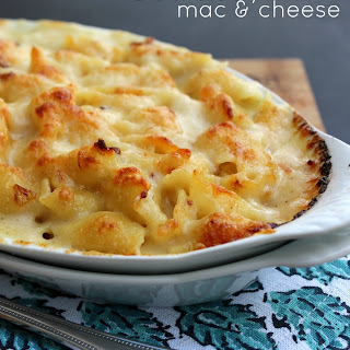 Scalloped Mac & Cheese & Valentine's Date Night Blog Hop