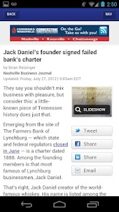 Nashville Business Journal- screenshot thumbnail