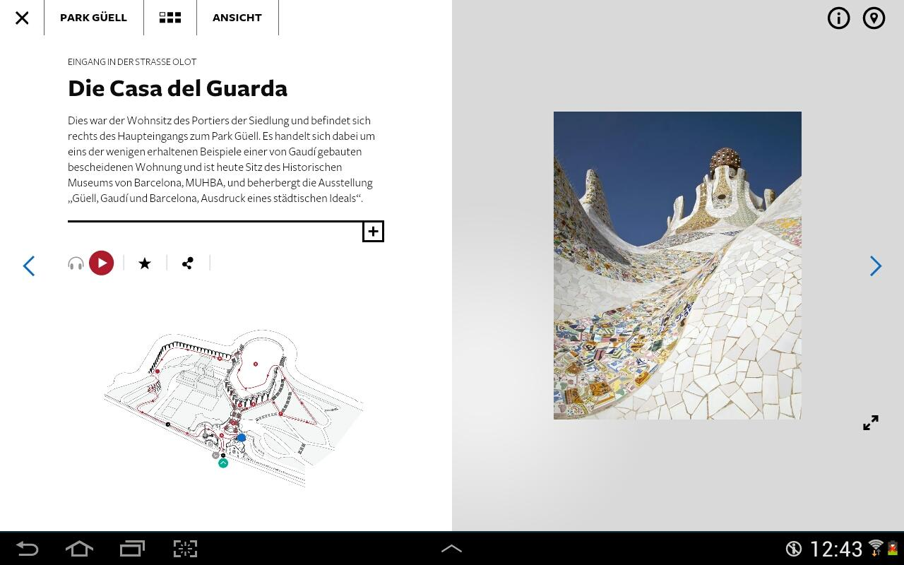 Park Güell - Offizieller Guide- screenshot