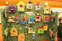 Bird Houses and Mosaics at James Bay