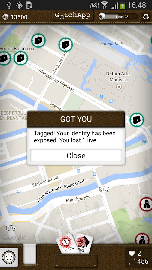 GotchApp - Keep on moving!- screenshot