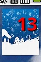Screenshot of Holiday Countdown Widget
