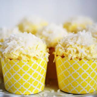 Coconut Cupcakes.