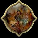 Go Theme Gothic: Firey Angel logo