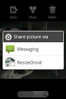 Screenshot of ResizeDroid