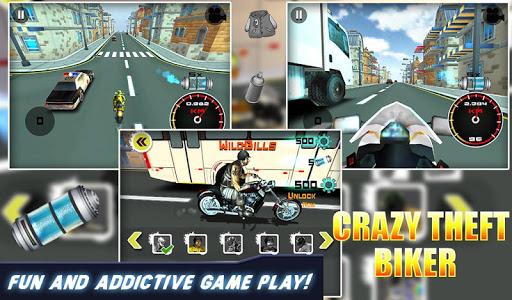 3D Crazy Theft Biker v1.0.0