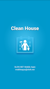 Clean House - chores schedule