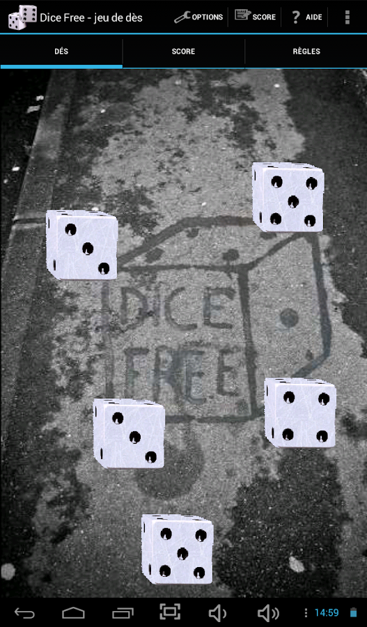 Dice - screenshot