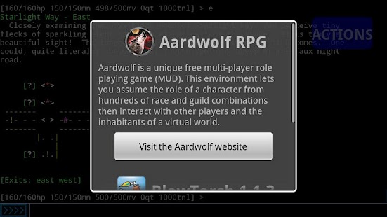 Aardwolf RPG- screenshot thumbnail
