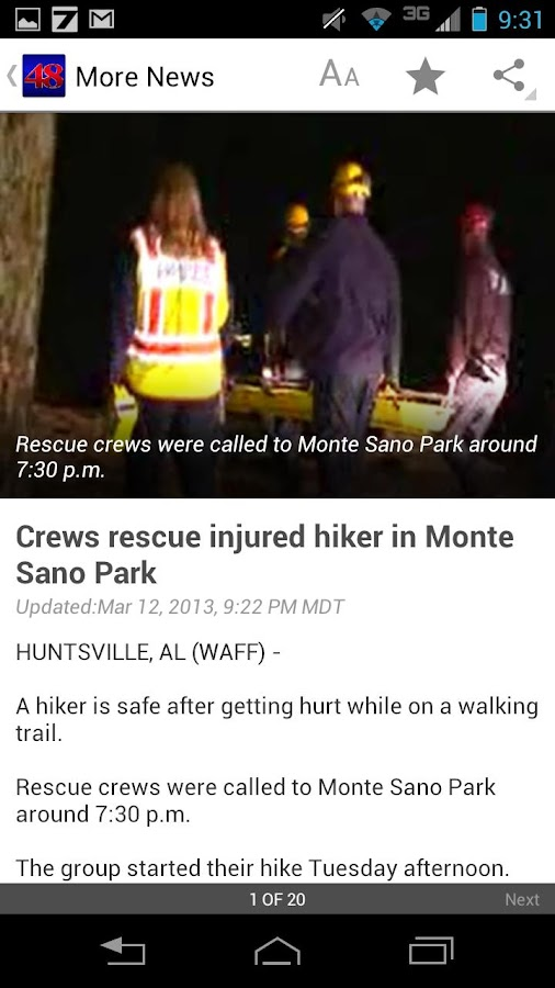 WAFF 48 Local News - screenshot