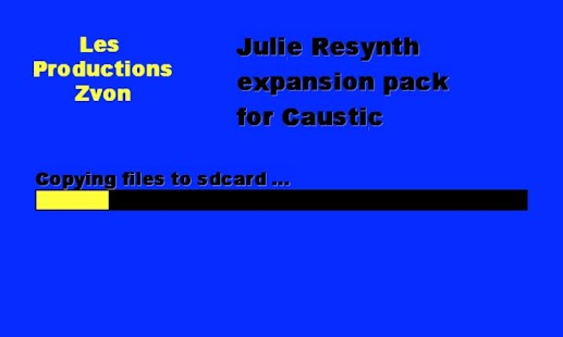 Julie Resynth for Caustic- screenshot thumbnail
