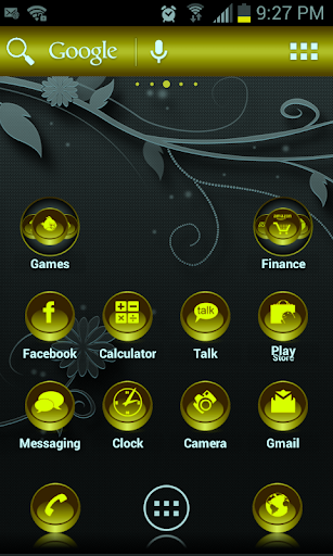 ADW Theme Gold Coins