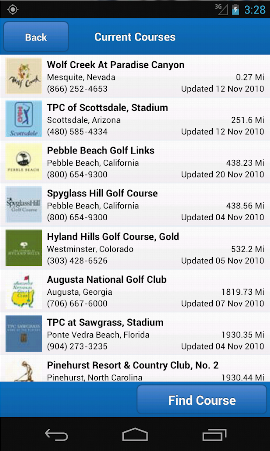 Golf Frontier - Golf GPS - screenshot