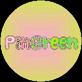 Apink PinGreen kakaotalk Theme