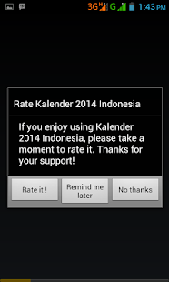 Kalender 2014 Indonesia - screenshot thumbnail