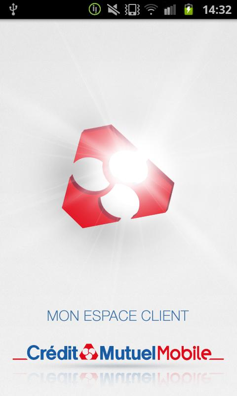 Crédit Mutuel Mobile - screenshot