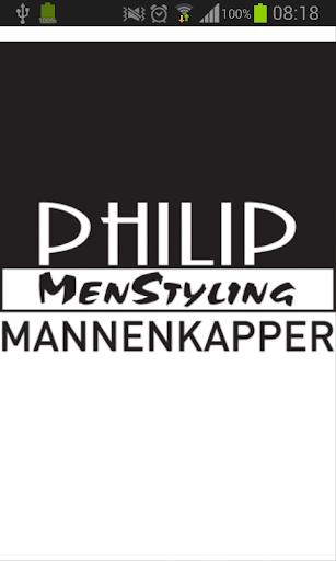 Philip Menstyling Mannenkapper