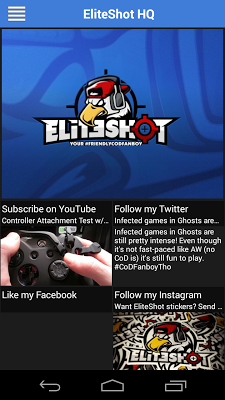 EliteShot HQ - screenshot