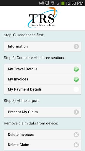 Tourist Refund Scheme