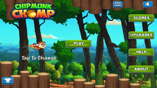 Chipmunk Chomp Flappy Flying