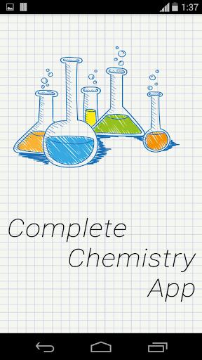 Complete Chemistry App 1.0.1 screenshots 1