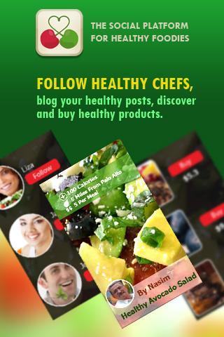Healthy Food Network App