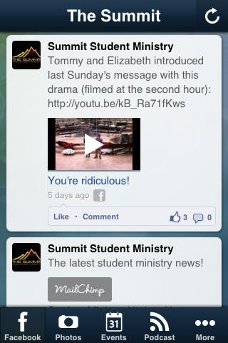 Summit Student Ministry