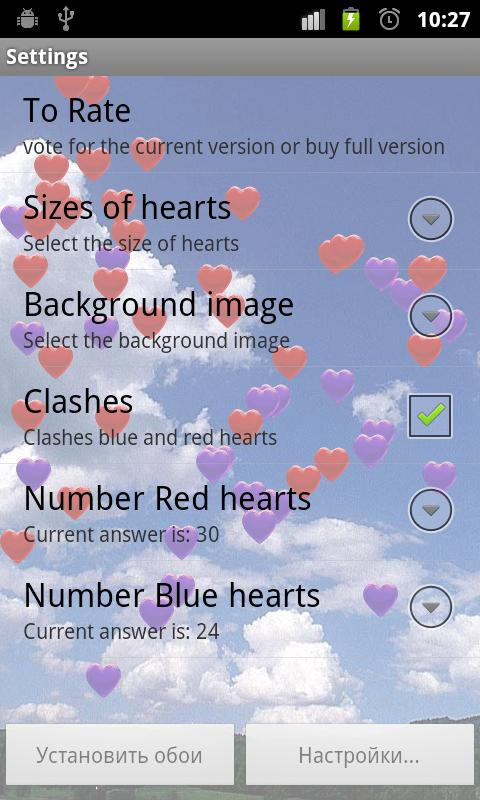 Free Flying Hearts- screenshot