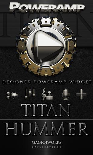 Poweramp Widget Hummer