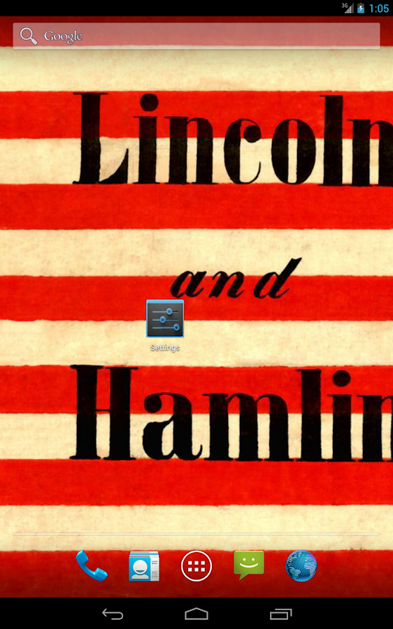 A. Lincoln Live HD+ Wallpaper - screenshot