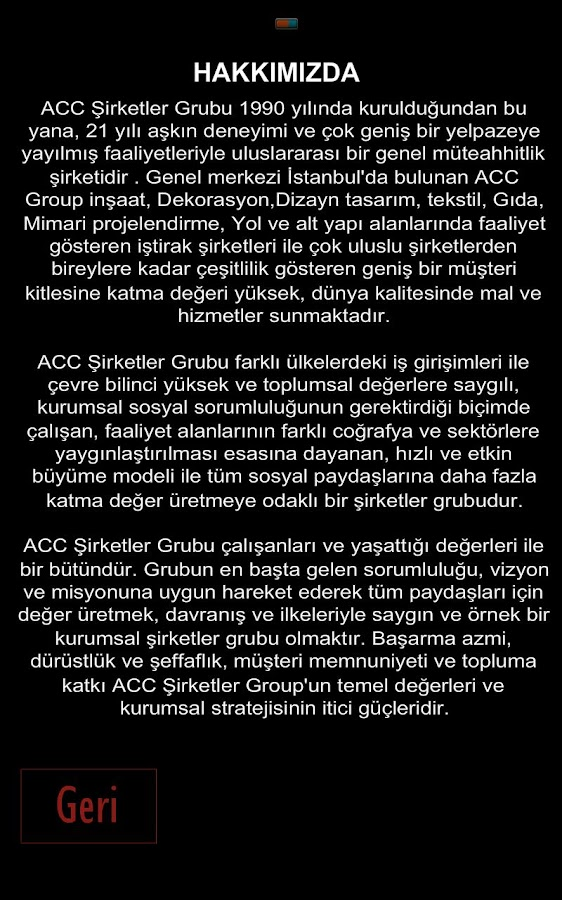 Acc Group Companies - screenshot