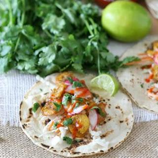 Curried Shrimp Tacos