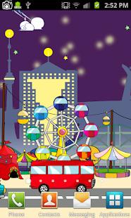 Cartoon Park Live Wallpaper - náhled