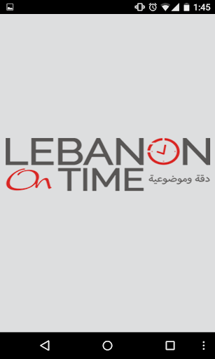Lebanon on Time
