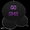 GO SMS - Intense Purple icon
