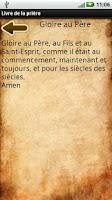 Screenshot of French Prayer Book