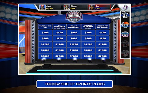 Sports Jeopardy! Screenshot 16
