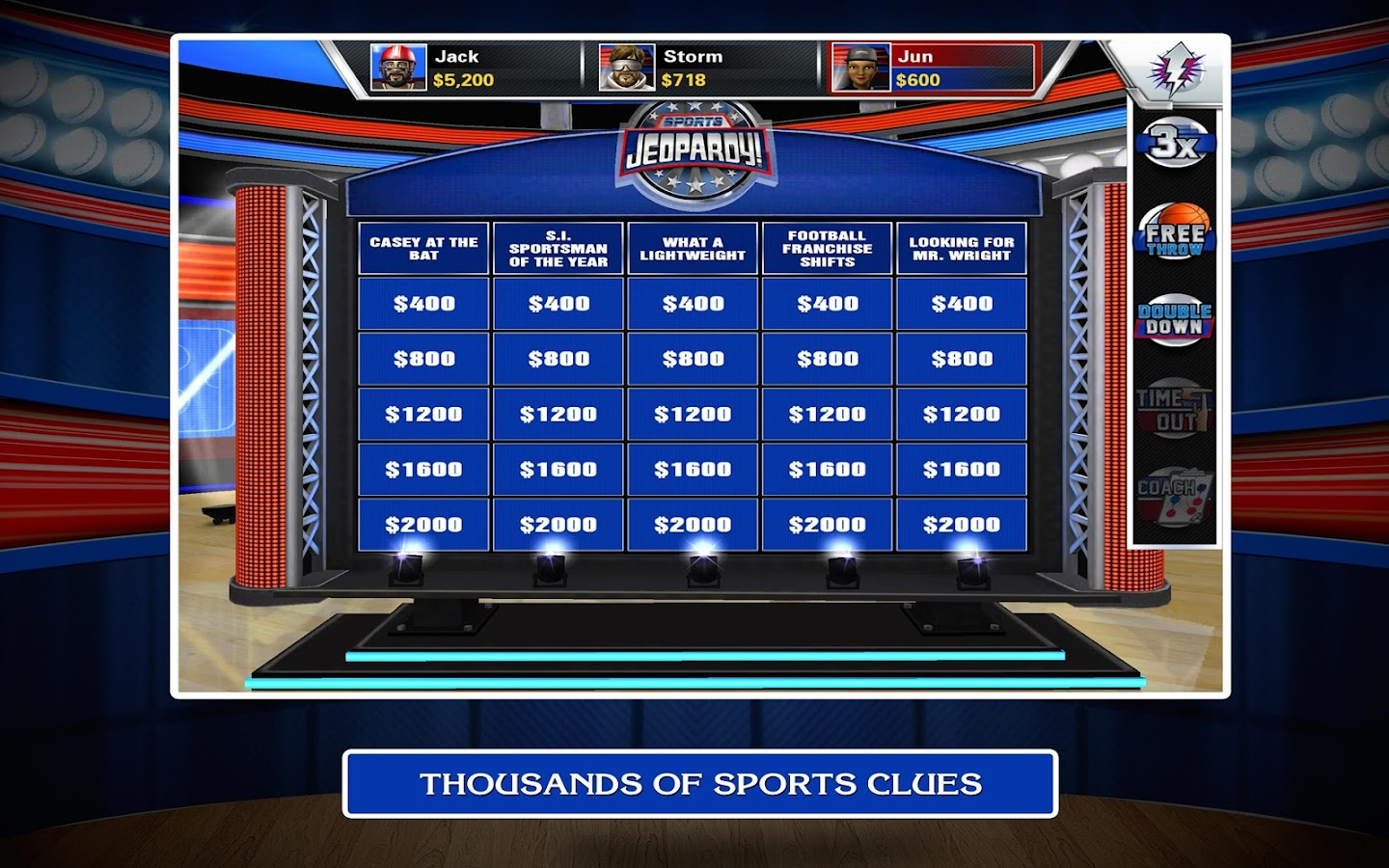 Sports Jeopardy! - screenshot