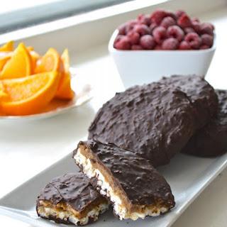 Dark Chocolate Peanut Rice Cake Treats
