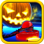 Air Hockey Halloween Apk
