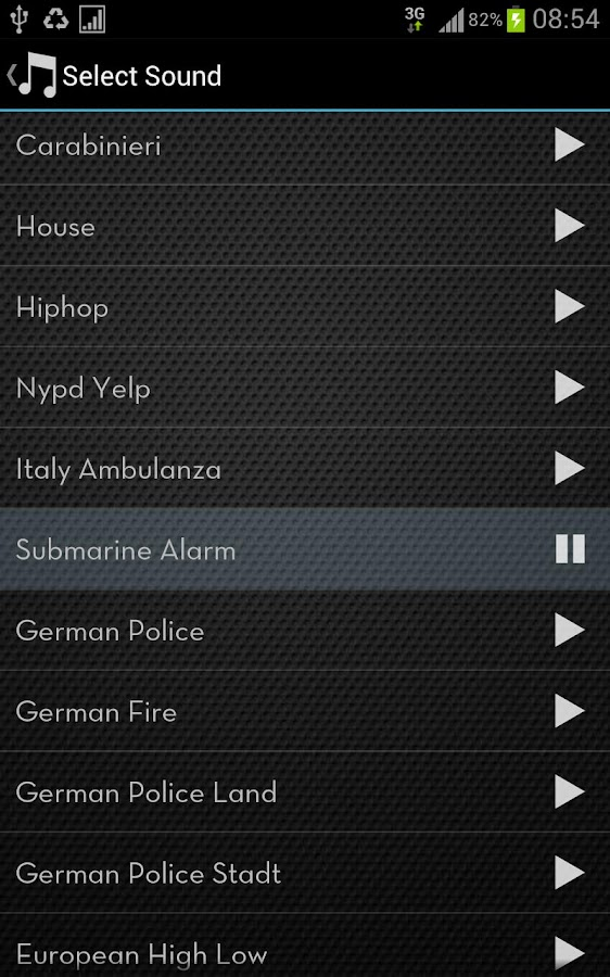 Police Lights & Sirens Pro - screenshot