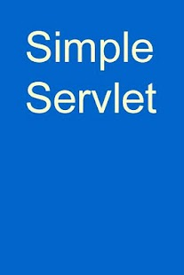 Simple Servlet- screenshot thumbnail