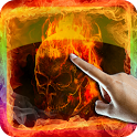 Ghost Rider 3D Remix LWP icon